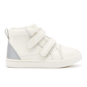 UGG Toddlers' Rennon Reflective Leather Hi-Top Trainers - Water Lily