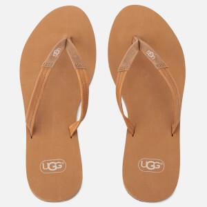 UGG Women's Magnolia Flip Flops - Chestnut