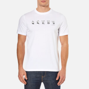 PS by Paul Smith Men's Dancing Dice T-Shirt - White