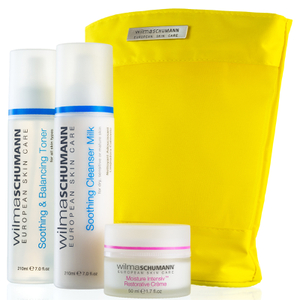 Wilma Schumann Dry/Sensitive Skin Basic Regimen (Worth $184.21)