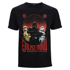 Star Wars: Rogue One Herren Trooper T-Shirt - Schwarz