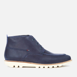 Kickers Men's Kymbo Moccasin Suede Boots - Dark Blue