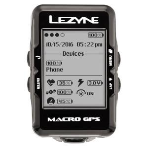 Lezyne Macro GPS サイクルコンピュータ