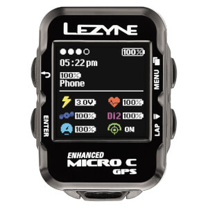 Lezyne Micro Colour GPS Cycle Computer Loaded Bundle