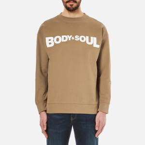 KENZO Men's Body and Soul Sweatshirt - Camel