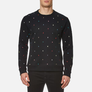 KENZO Men's Embroidered Letters Sweatshirt - Black
