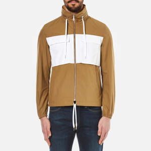 KENZO Men's Contrast Pocket Keyway Jacket - Camel