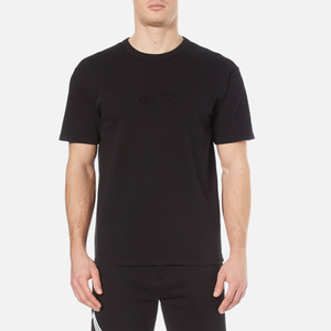 KENZO Men's Logo Wide Sleeve T-Shirt - Black