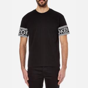 KENZO Men's Sleeve Logo T-Shirt - Black