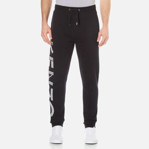 KENZO Men's Paris Print Jogpants - Black