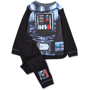 Star Wars Boy's Novelty Pyjamas - Black
