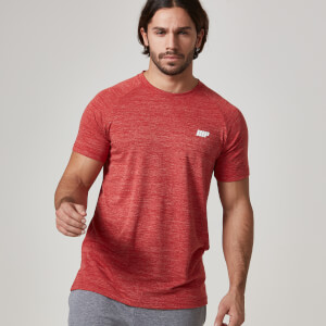 Myprotein Heren T-shirt Performance - Rood