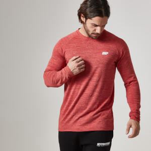 Myprotein Men's Performance Long Sleeve Top – Red