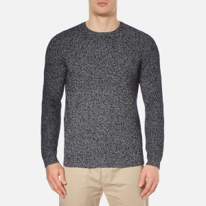 Folk Men's Fleck Jumper - Blue