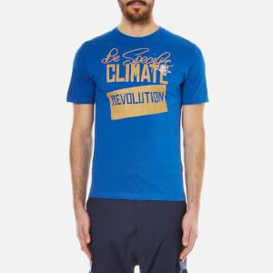Vivienne Westwood MAN Men's Jersey Print T-Shirt - Blue