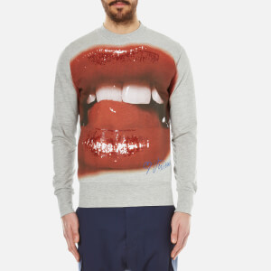 Vivienne Westwood MAN Men's Lips Sweatshirt - Grey Melange