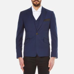 Vivienne Westwood MAN Men's Basic Wool Waistcoat Jacket - Navy