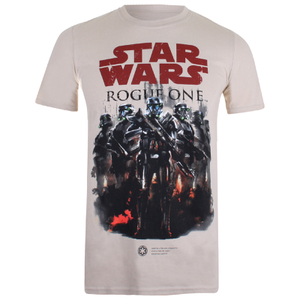 T-Shirt Homme Star Wars Rogue One Squad - Beige