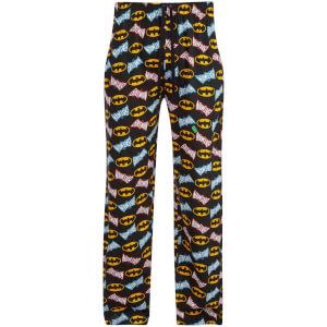 Pantalon de Pyjama pour Homme -DC Comics Batman Print -Multi