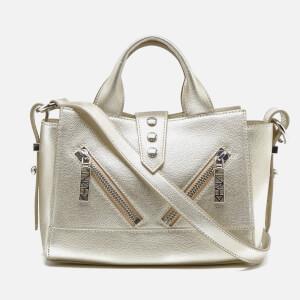 KENZO Women's Kalifornia Mini Tote Bag - Silver