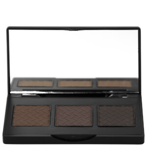 The BrowGal Convertible Brow Powder & Pomade Palette 5.5g - Dark Hair 01