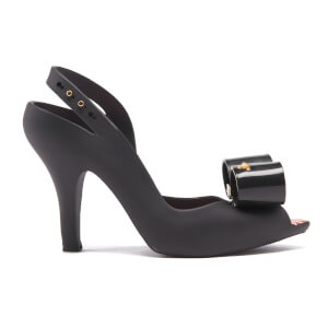 Vivienne Westwood for Melissa Women's Lady Dragon Bow Heeled Sandals - Black