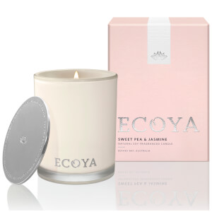 ECOYA Sweet Pea and Jasmine Candle - Madison Jar