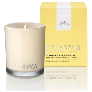 ECOYA Lemongrass and Ginger Candle - Mini Madison