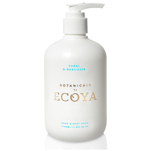 ECOYA Botanicals Evolution Coral and Narcissus Hand and Body Wash