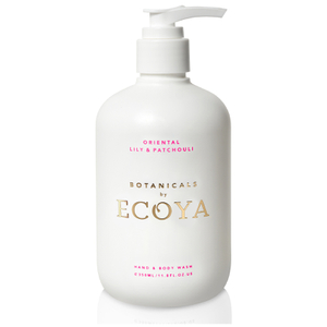 ECOYA Botanicals Evolution Oriental Lily and Patchouli Hand and Body Wash