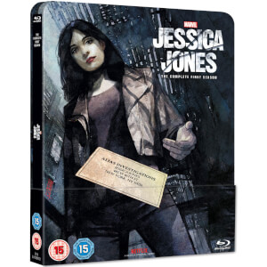 Marvel's Jessica Jones: Season 1 - Zavvi UK Exklusives Limitiertes Blu-ray Steelbook Edition (UK Exclusive)
