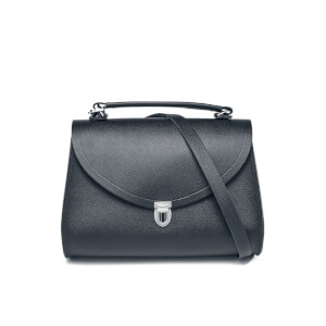 The Cambridge Satchel Company Women's Poppy Bag - Navy Saffiano