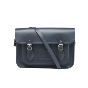 The Cambridge Satchel Company Women's 13 Inch Magnetic Satchel - Navy