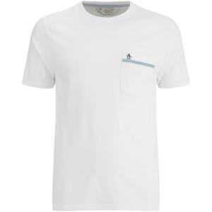 T-Shirt Original Penguin Pocket -Blanc