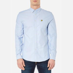 Lyle & Scott Men's Long Sleeve Oxford Shirt - Riviera
