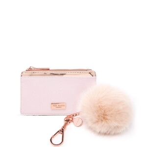 Ted Baker Women's Deenaa Card Purse with Pom Gift Set - Nude/Pink