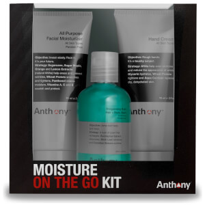 Anthony Moisture On the Go Kit -lahjapakkaus miehille