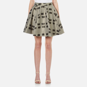 Vivienne Westwood Anglomania Women's New Legend Skirt - Gold/Black