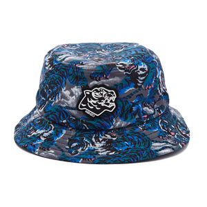 KENZO Men's Blue Tiger Bucket Hat - Multi