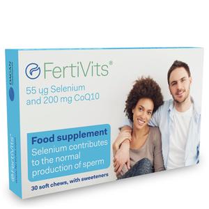 FertiVits - 30 Chewable Gel Tablets