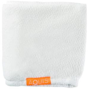 Aquis Hair Turban Lisse Luxe White: Image 3