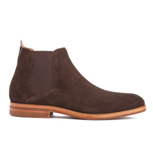 H Shoes by Hudson Men's Tonti Suede Chelsea Boots - Brown