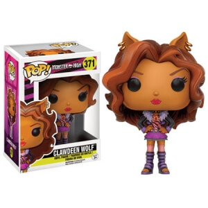 Monster High Clawdeen Wolf Pop! Vinyl Figure