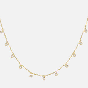 Missoma Women's Interstellar Drop Necklace - Gold