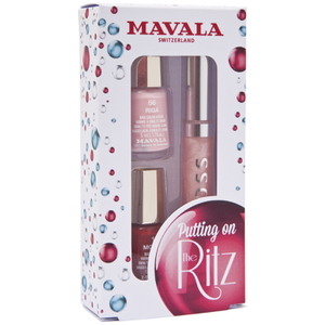 Mavala Putting on the Ritz Nail Polish and Lipgloss - Waltz