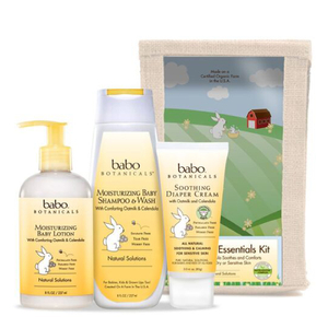 Babo Botanicals Newborn Essentials Set (Worth $59.00)