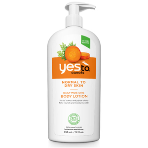 Lotion pour le Corps Hydratation Quotidienne yes to carrots