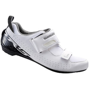 Shimano TR5 SPD-SL Triathlon Shoes - White