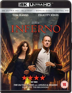 Inferno (3 Disc 4K Ultra HD, Blu-Ray & Bonus Blu-Ray)