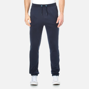 BOSS Green Men's Hadiko Cuffed Jog Pants - Navy